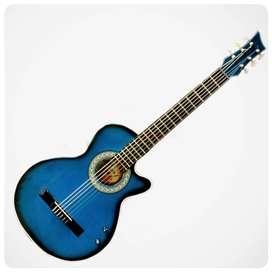Bucaramanga JBL Guitarra Acustica Junior Boquete Azul