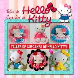 Clases de Cupcakes de Hello Kitty