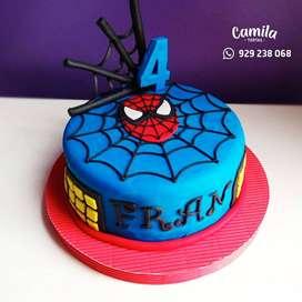 Tortas personalizadas para cumpleaños