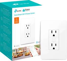 Smart Wi-Fi 2 enchufes de Pared | KP200