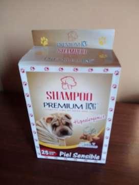 Shampoo para mascotas para piel sensible