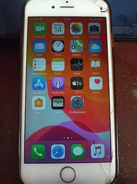 iPhone 6s de 32 gb sin acceso a llamadas o datos