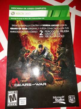 Gears of War judgement español original, region NTSC