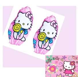 Hello Kitty Mangas Para Delantal Niña Juguete Piñatas