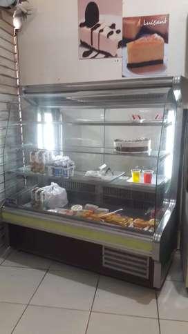 exhibidoras para panaderia