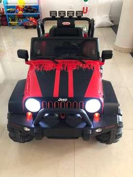 Jeep Renegade de Prinsel (electrico)