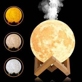 Luna 2 en 1 con 3 Tonalidades y Humificador para Esencias