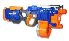 Nerf  elite hyperfire usada