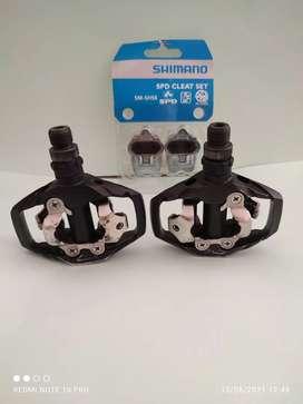 Pedales automáticos Shimano pdm 530