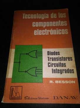 Tecnologia de Los Componentes Electronicos R Besson libro tecnico 1972