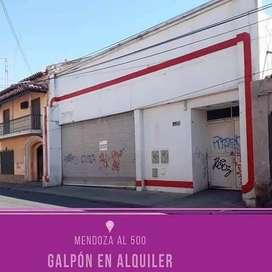 Mendoza  500 - $ 90.000 - Local Alquiler