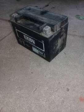 vendo bateria de moto