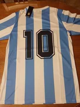 Camiseta maradona argentina 1986 nueva