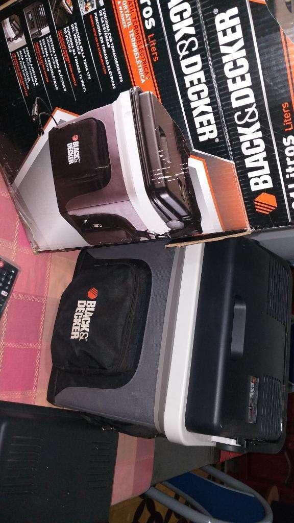 Heladera Portátil Black Decker ,ideal para viajes 0