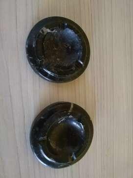 Ceniceros de mármol 2 x