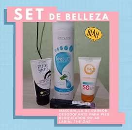SETS DE BELLEZA EN REMATE