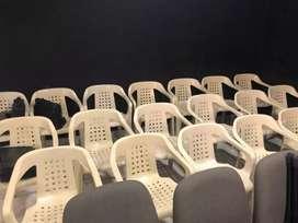 Sillas Rimax y sillas de tela estilo cine