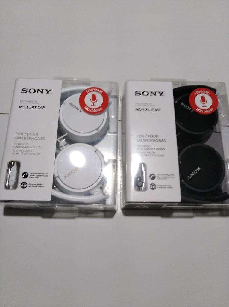 Audifono Sony Zx110ap Sellado Delivery 0
