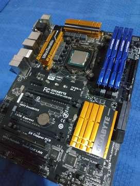 I7-4790k / 16gb RAM 1866mhz Hyperx Fury / Gigabyte GA-Z97X-UD3H