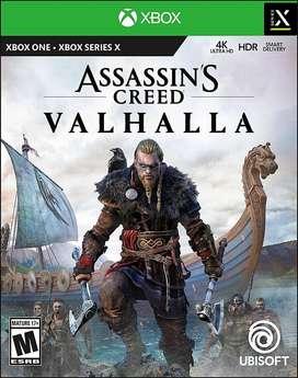 Assassin's Creed Valhalla Xbox One & Xbox Series X-S Cambios de Juegos.