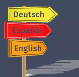 Traducción ALEMÁN - INGLÉS - ESPAÑOL