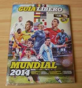 Guia Libero Brasil Mundial 2014 Incluye Dvd , Nueva y Sellada