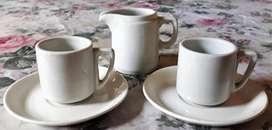 Juego De Cafe Arabian Finlandia (2 Pocillos Con Plato)