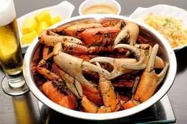 Busco cocinero especializado en marisco