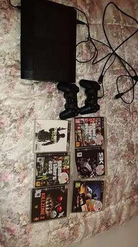 PS3 7 juegos 3 controles