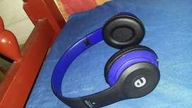 Auriculares ewtto azules con auxiliar removible