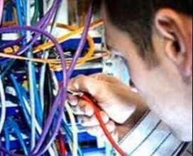 Se requiere Instalador de redes cableadas con experiencia en sistemas