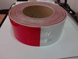 CINTA CONSPICUITY ROJO/BLANCO 983-32 5CM