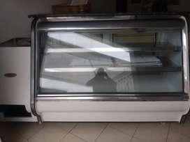 Refrigerador y congelador  panorámico