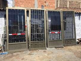 Vendo Puertas Aluminio