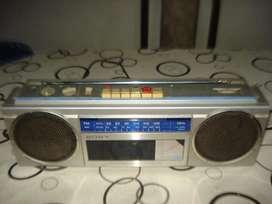 Radiograbador Sony Cfs250 Japan Vintag De Los 80s No Prende