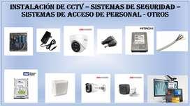 SISTEMAS DE SEGURIDAD - CCTV - OTROS