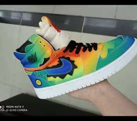 Tenis en bota Nike Jordan Retro 1j Balvin caballero