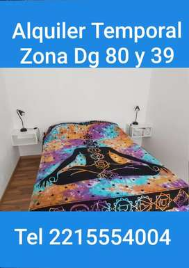 ALQUILER TEMPORAL ZONA Dg 80 y 39