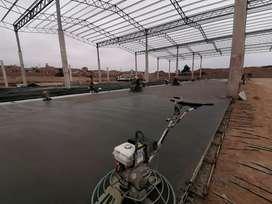 Servicio construccion  de pavimentos de concreto