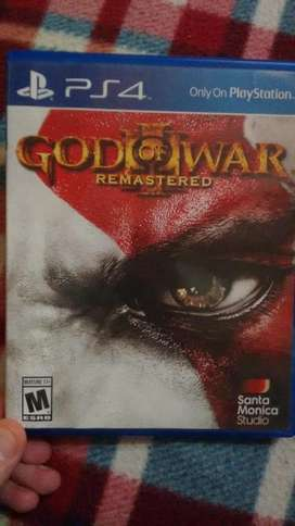 Vendo God Of War 3 Remasterizado ps4