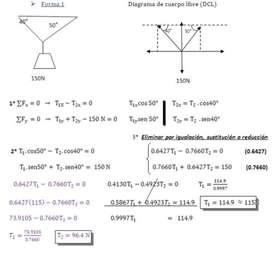 Probelmas de física- estática y resistencia de materiales