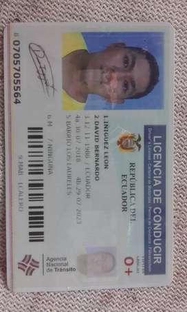 busco trabajo licencia tipo b