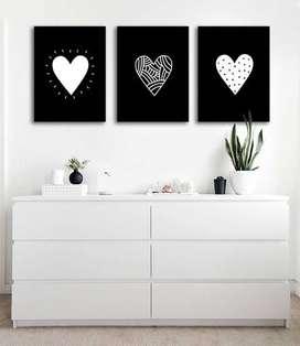 lindos cuadros en madera