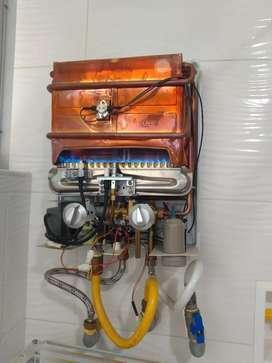 Mantenimiento y Instalación de calentadores de agua caliente a gas