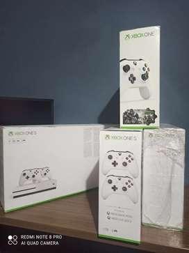 Xbox one S nuevas + 5 juegos & membresías