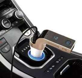 Modulador Carro CarS7 Usb Aux Bluetooth Transmisor Fm SD Mp3