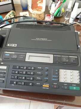 Vendo teléfono fax panasonic usado primera mano