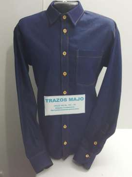 camisas en jean personalizada
