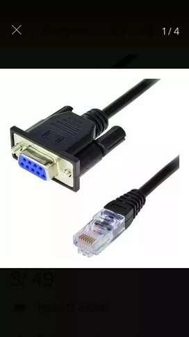Cable Utp VGA henbra de 16 pines y RJ45 macho