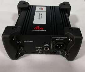Dbx Di1 Caja Directa Batería 9v